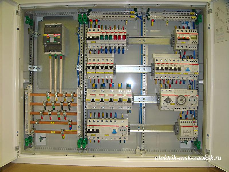 индивидуально правила по сборке электрощитов всех